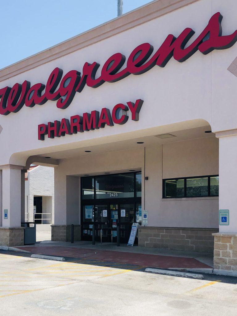 Local Walgreens on Over 50 Feeling 40