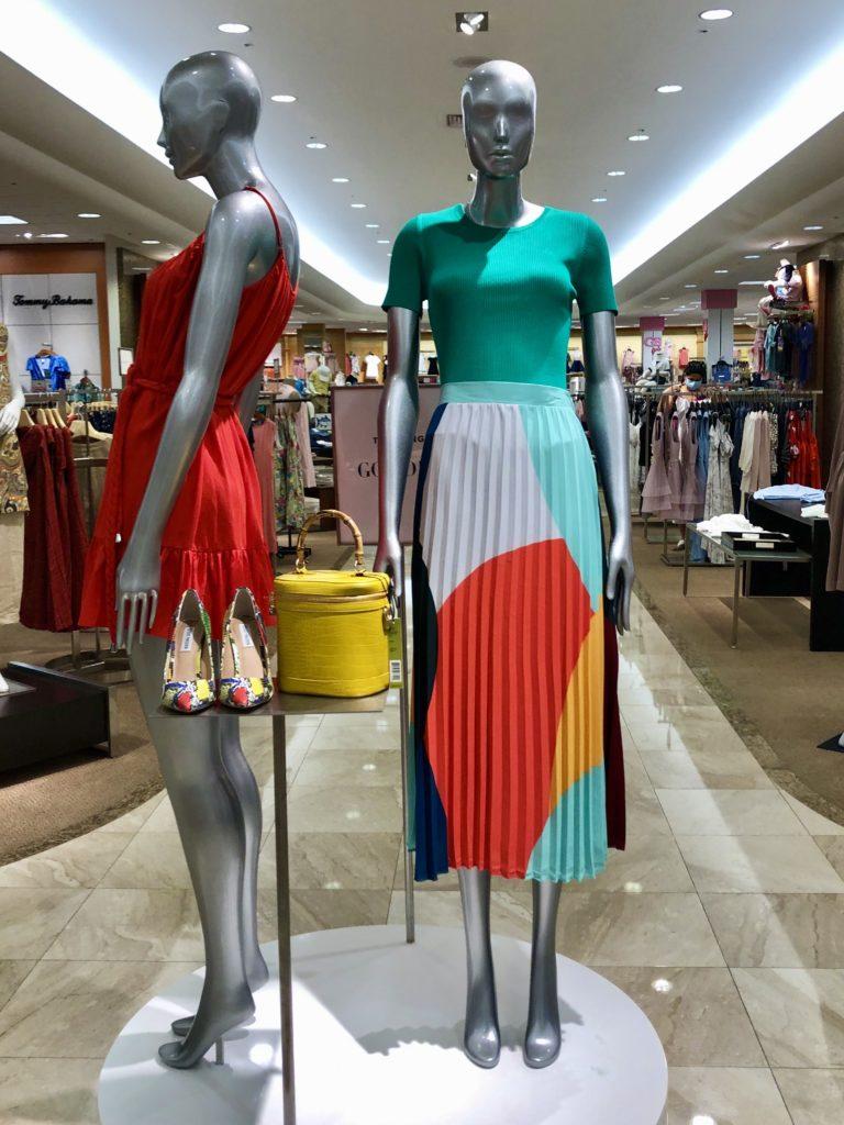 Dillards Fashion Display on Over 50 Feeling 40