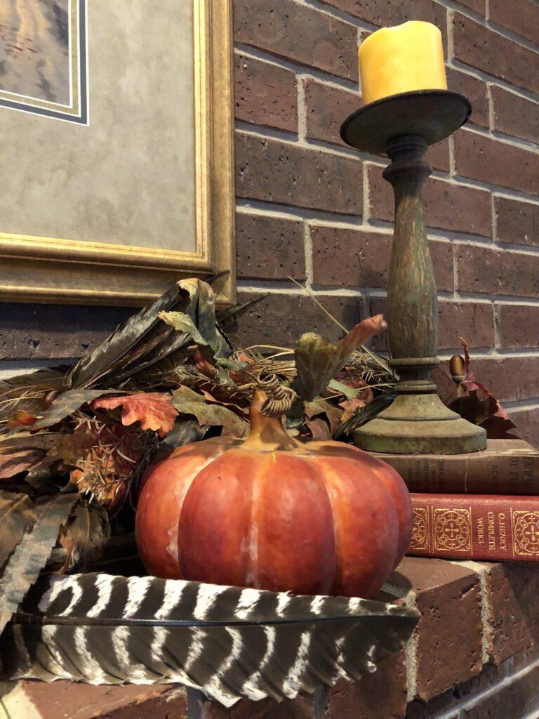 Pamela Lutrell's autumn decorations