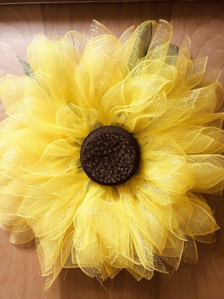 Autumn Sunflower Door Decoration on over 50 Feeling 40