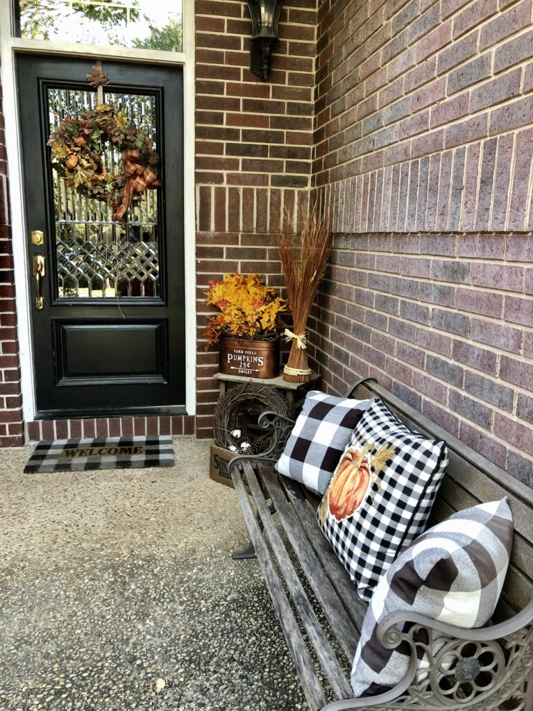 Pamela Lutrell's Autumn Porch