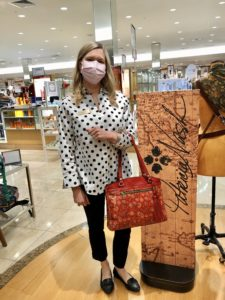 Patricia Nash 10 Year Anniversary Event at Dillards on over 50 Feeling 40
