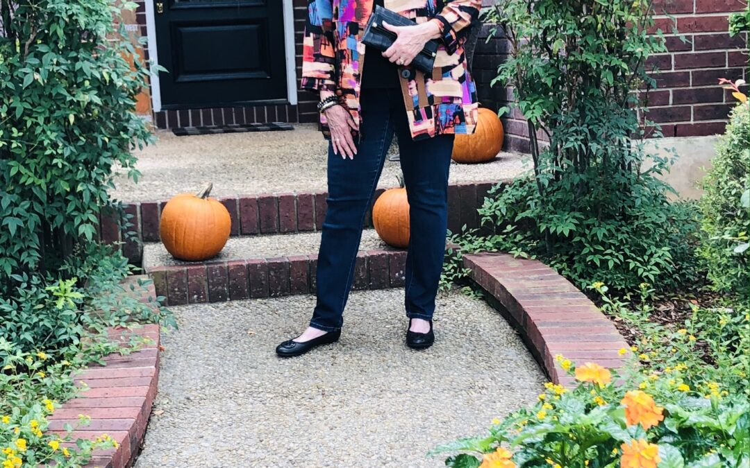 How I style an artisan jacket for fall