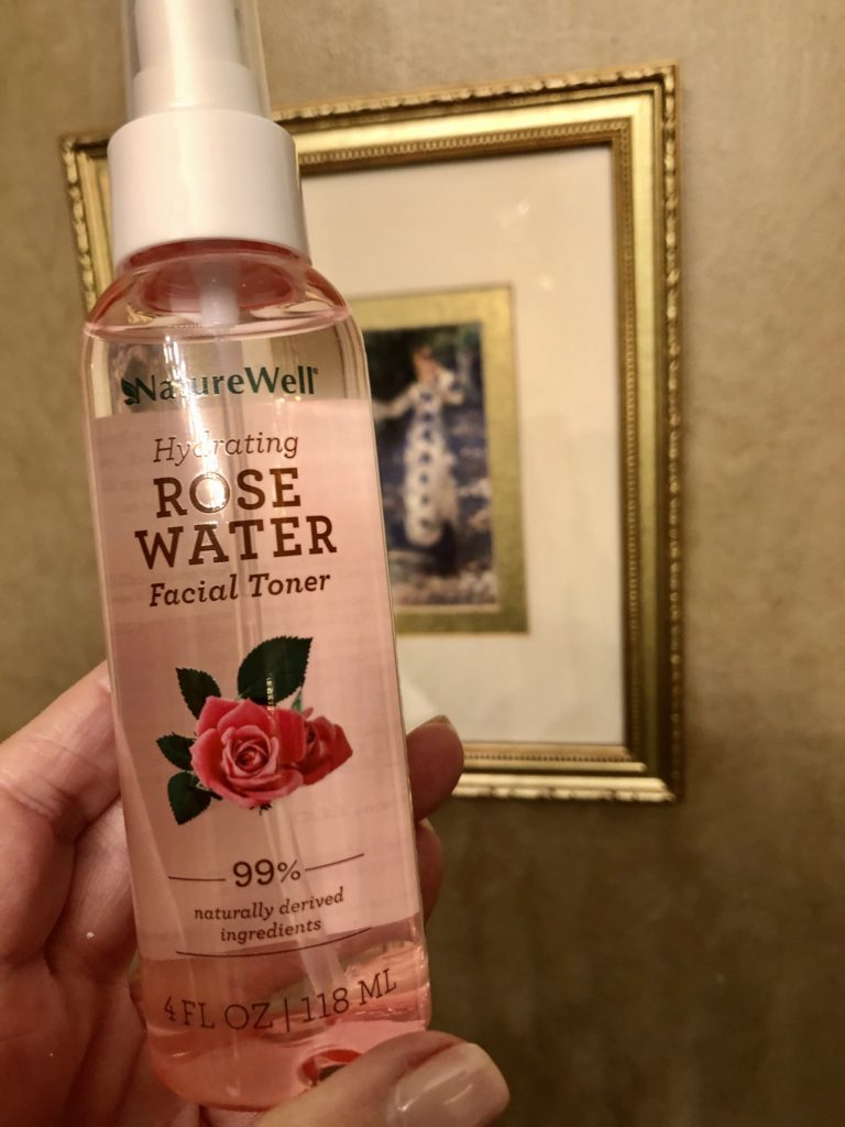 Nature Well Rose Water on Over 50 Feeling 40