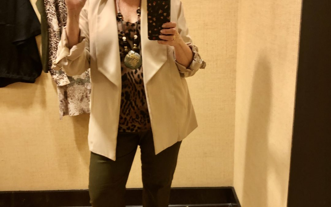 What I have learned about my new life-style and a return to Chico's
