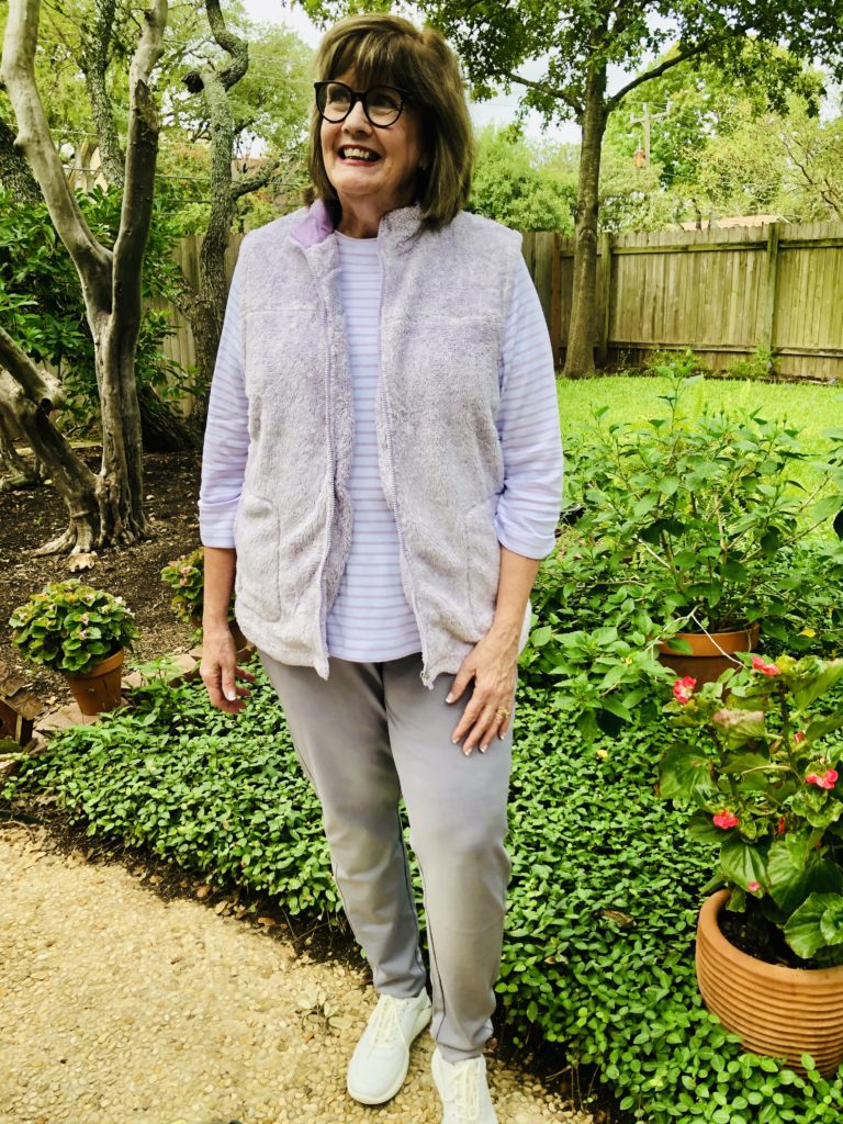 Over 50 Feeling 40 with national fall clothing