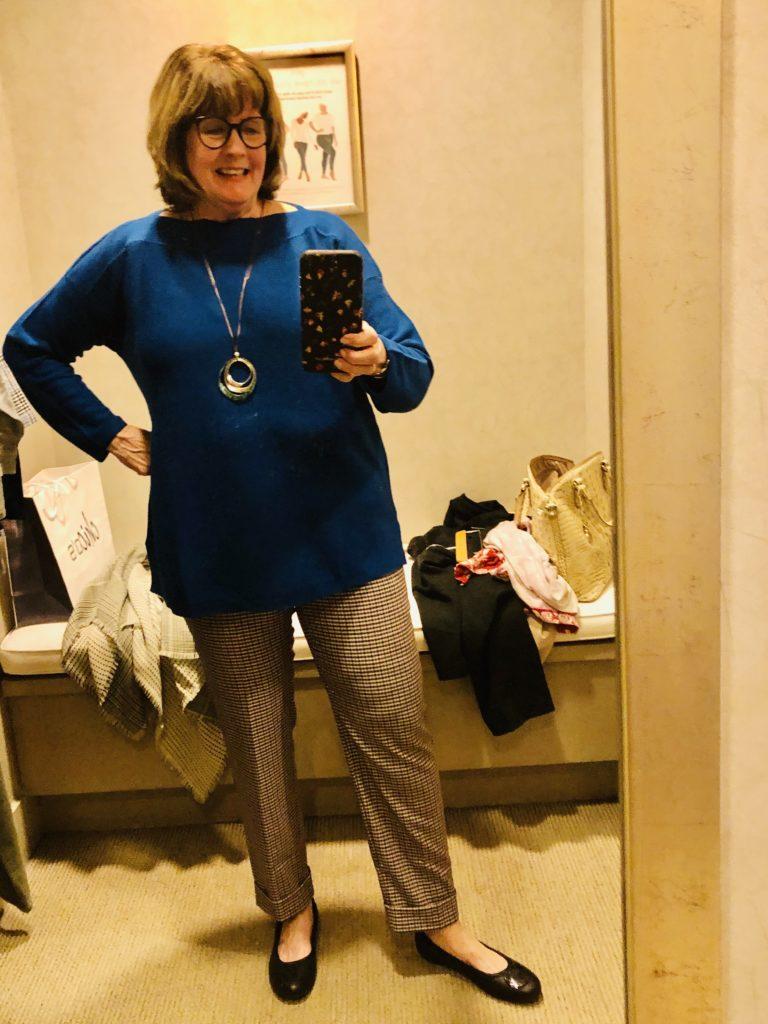 Pamela Lutrell at JJill on Over 50 Feeling 40
