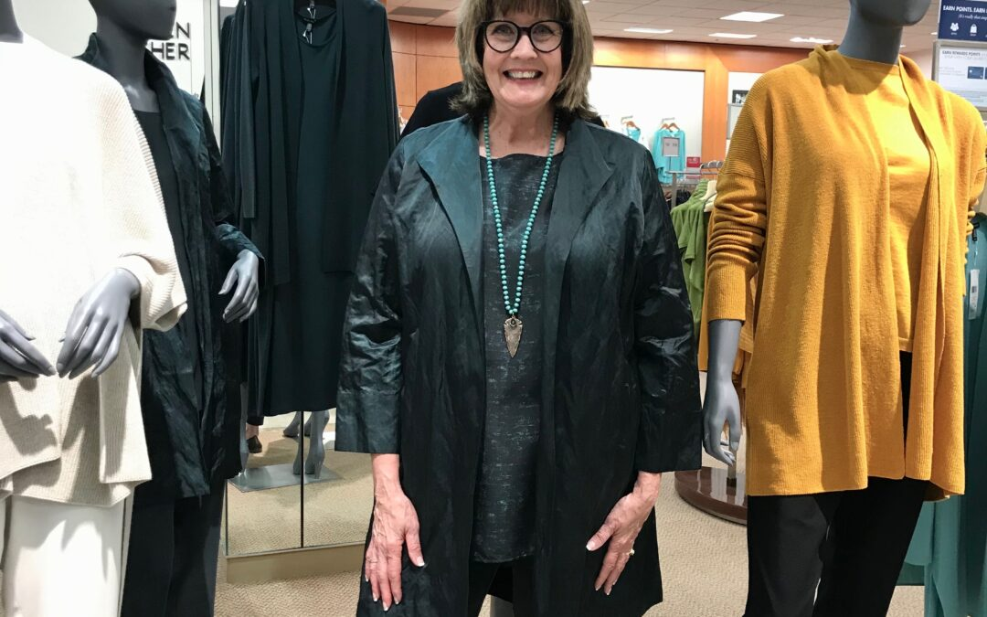 Eileen Fisher's sustainable, vibrant clothing for fall 2020 @ Dillard's