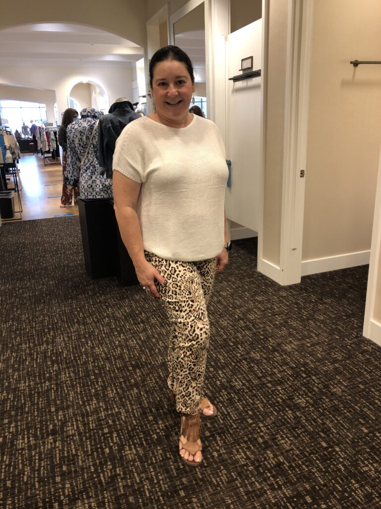 Iris Petite Fit Outfit at Chicos on Over 50 Feeling 40