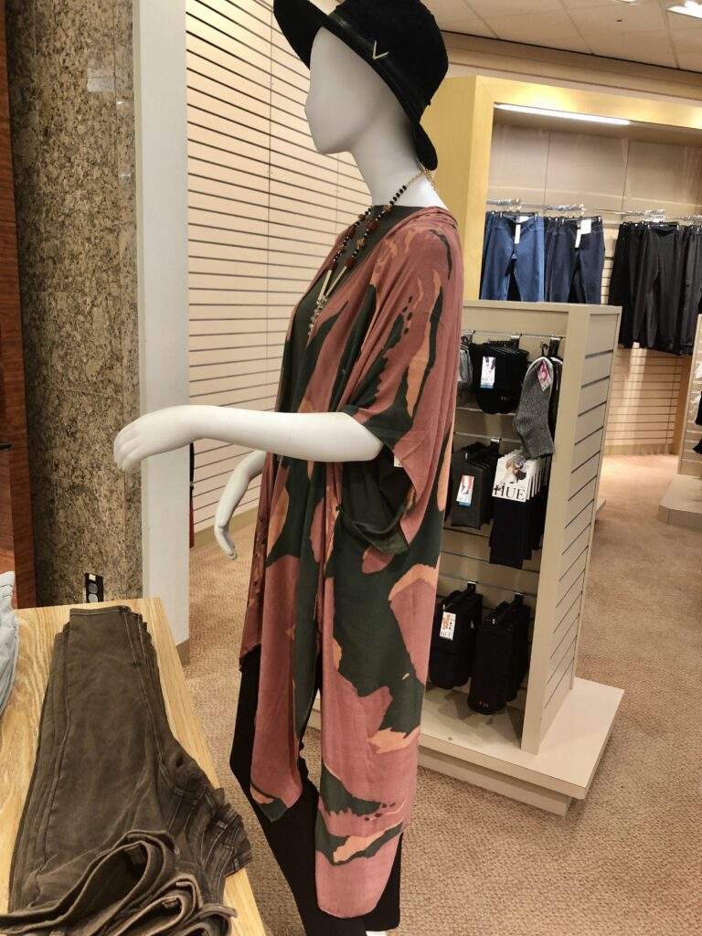 Would You Wear a Fall Kimono on Over 50 Feeling 40