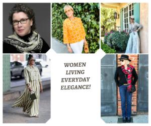 Elegant Women on over 50 Feeling 40