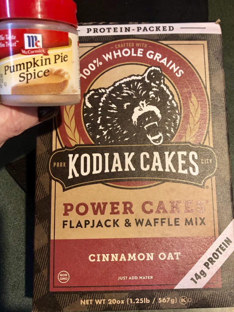 Kodiak Power Cakes on Over 50 Feeling 40