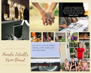 Pamela Lutrell's Vision Board