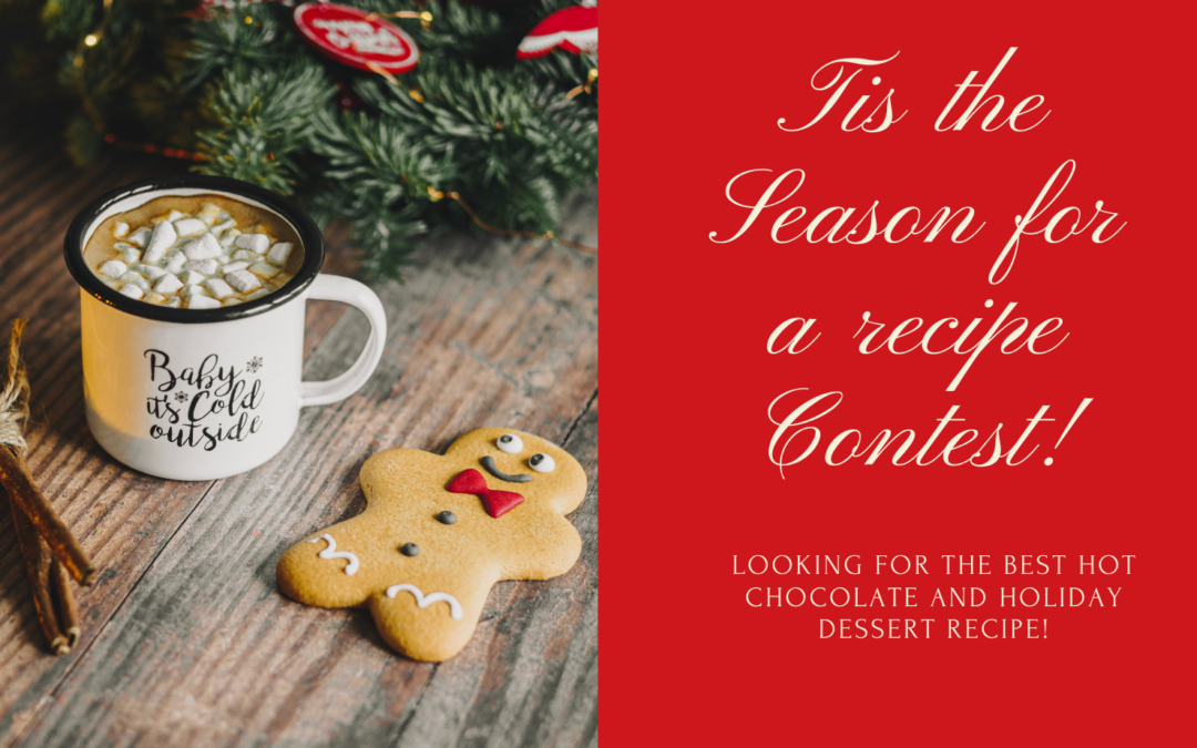 62 Days of Holiday Joy: Let's begin with a recipe contest