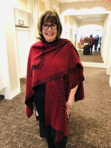 Chicos Ruana for Fall 2020 on over 50 Feeling 40