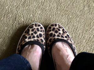 DSW Sale Flats on Over 50 Feeling 40
