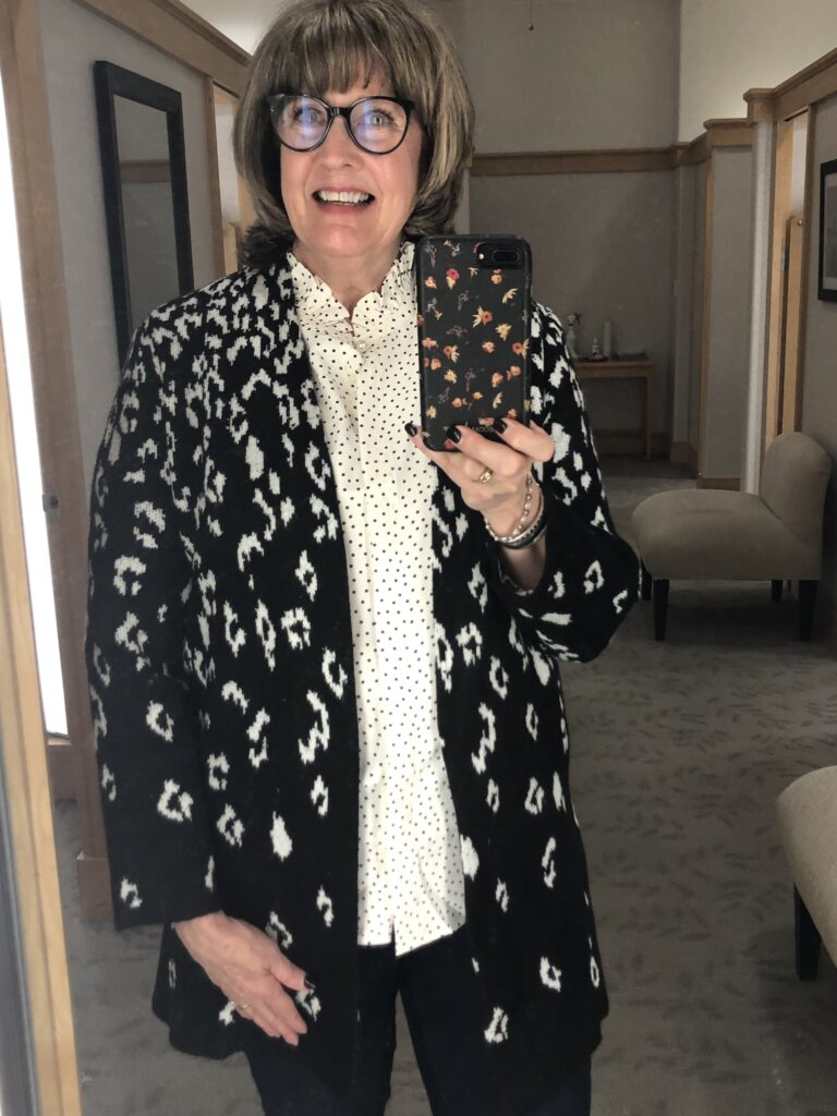 Pamela Lutrell with the Talbots Friends 7 Family Sale