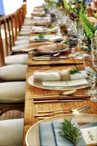 Setting an elegant table on over 50 feeling 40