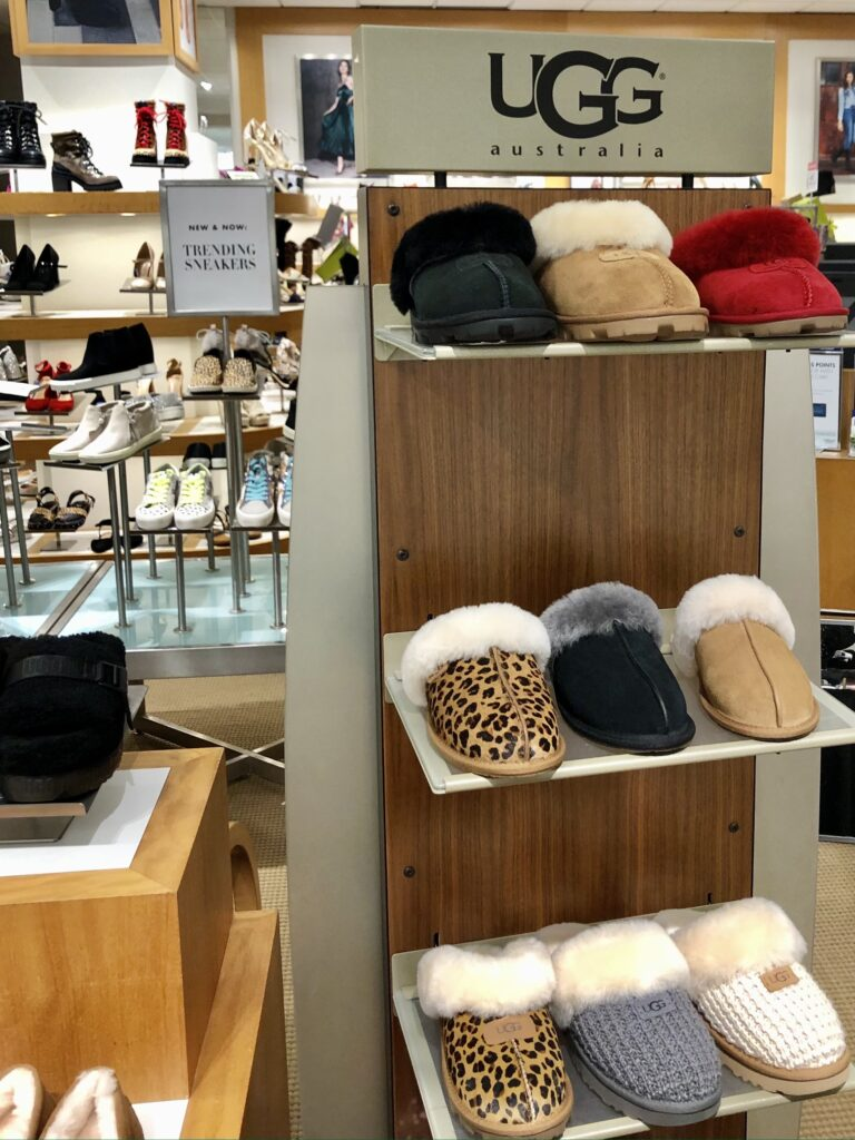 UGG Slippers at Dillard's in the Shops at La Cantera
