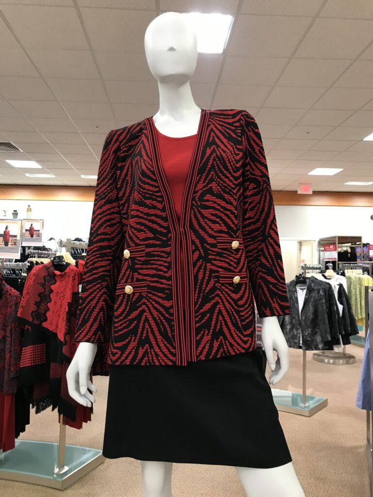 Would You Wear Red and Black on Over 50 Feeling 40