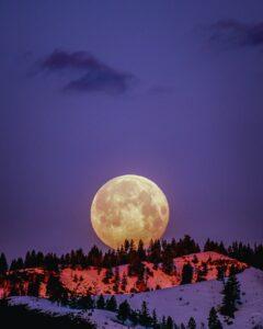 Moon photo on Over 50 Feeling 40