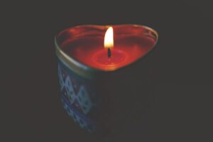 Fall candles on over 50 feeling 40