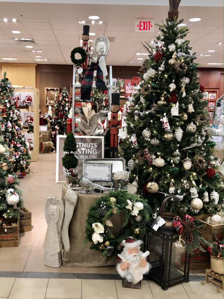 Christmas Decor at Dillards