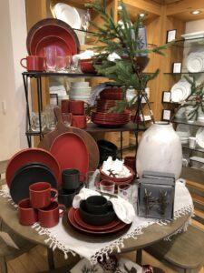 Pottery Barn Holiday Table Decor on Over 50 Feeling 40