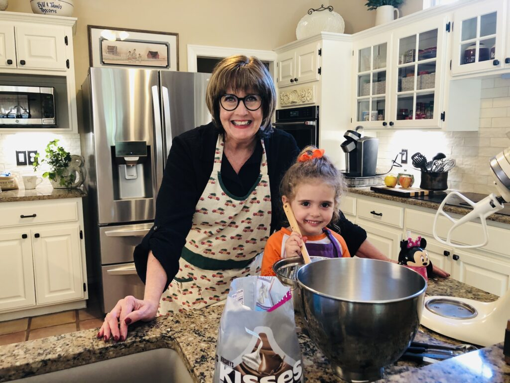 Pamela Lutrell with secrets for cooking with kids