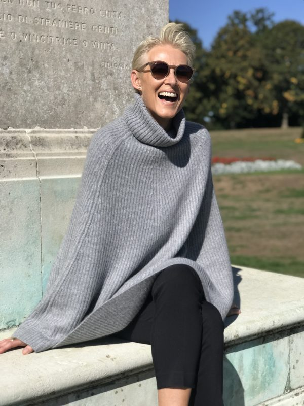 Catherine Robinson Cashmere on Over 50 Feeling 40