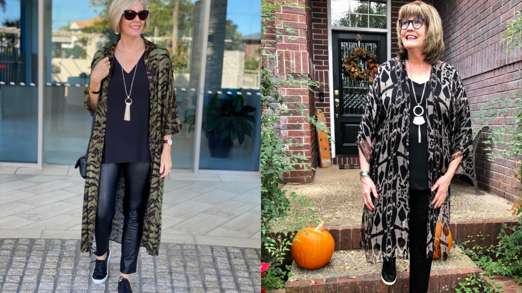 Fall clothing Inspiration on over 50 Feeling 40