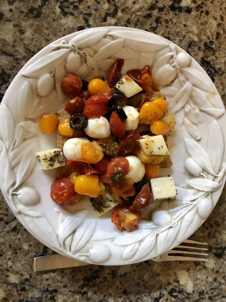 Italian Roasted Tomatoes on Over 50 Feeling 40