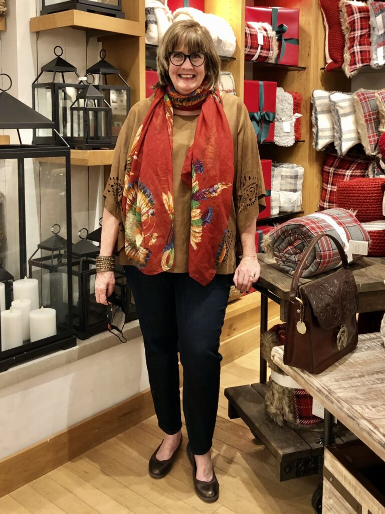 Pamela Lutrell in Pottery Barn in The Shops at La Cantera