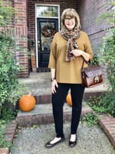Eileen Fisher Tunic on Over 50 Feeling 40