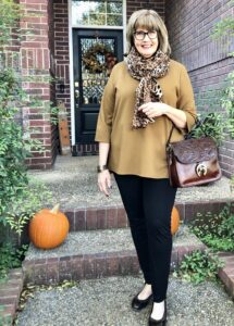 Eileen Fisher Tunic from Dillards on over 50 Feeling 40