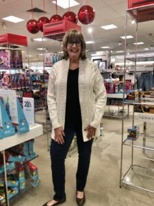 INC Cardigan at Macy's on over 50 feeling 40