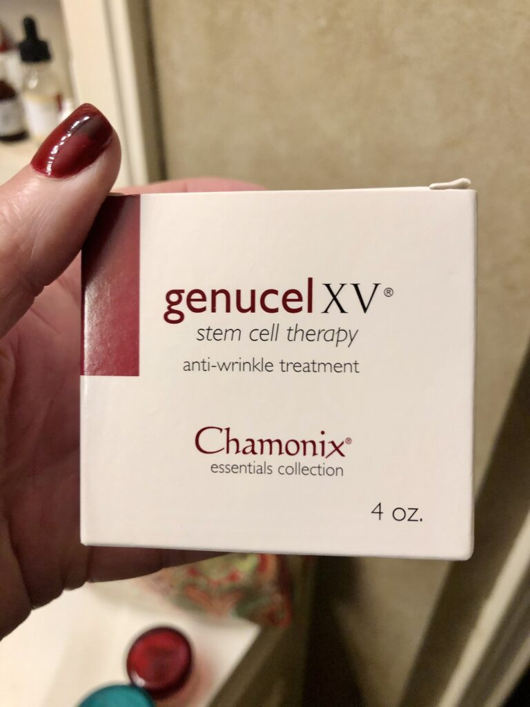 Pamela Lutrell uses Genucel XV twice a day