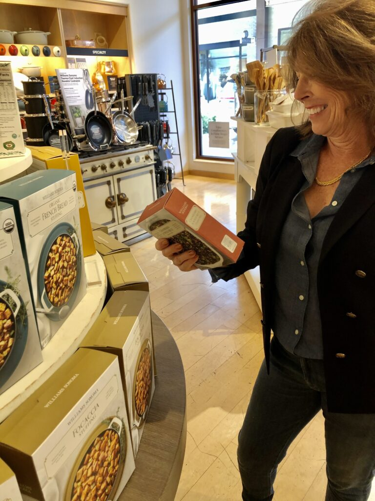 Williams Sonoma Holiday Foods at The Shops at La Cantera on Over 50 Feeling 40
