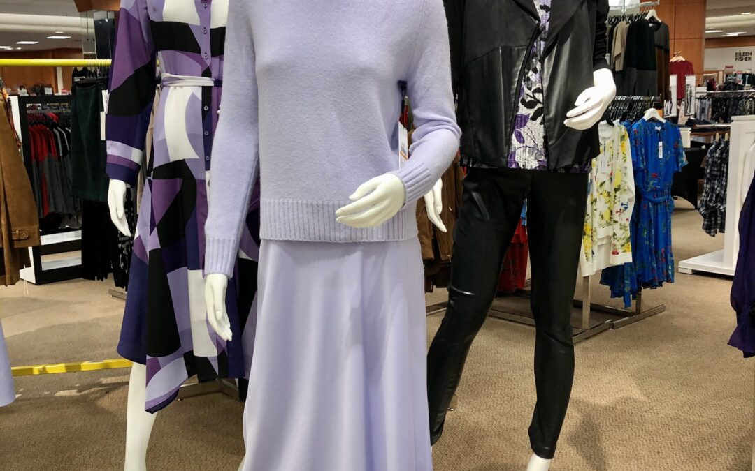 Would You Wear It Pop Up: New trends with purple