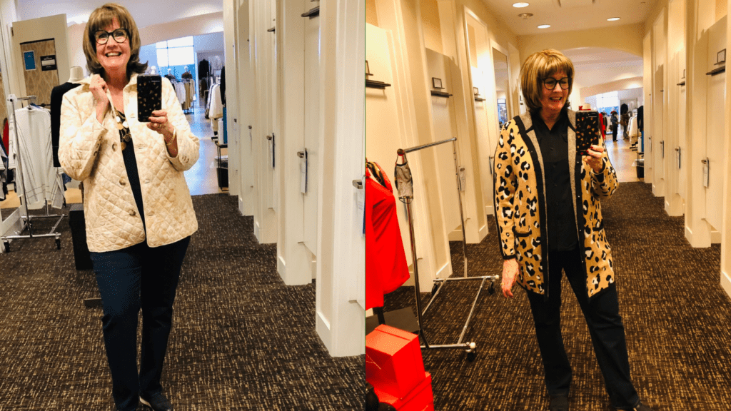 Pamela Lutrell's Chico's Jacket Decision