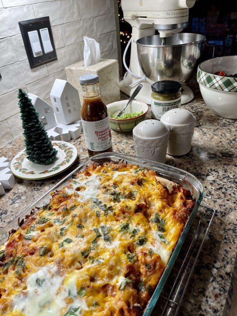 Pamela Lutrell's Christmas Breakfast 2020
