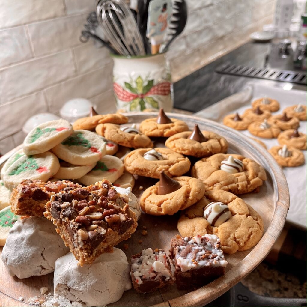 Pamela Lutrell and Christmas Cookies