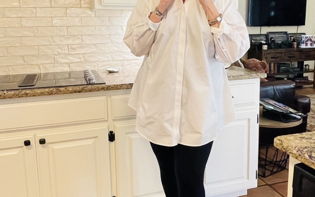 Foxcroft celebrates fresh start in 2021 with non-iron white shirts