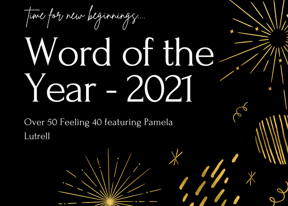 Select one powerful word to guide your goals for 2021