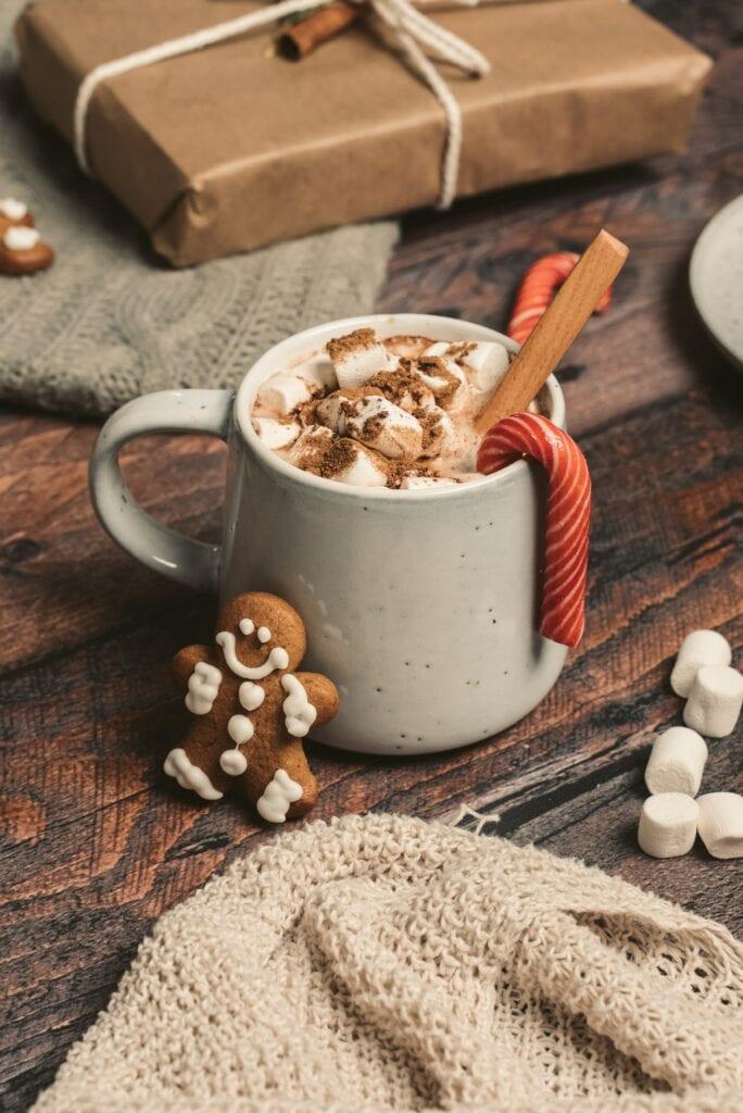 Christmas Eve Cocoa on Over 50 Feeling 40