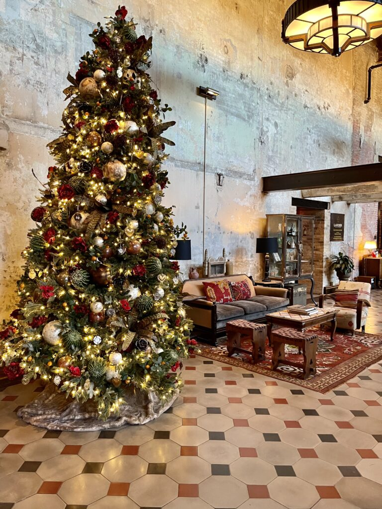 Lobby at Hotel Emma in San Antonio on Over 50 Feeling 40