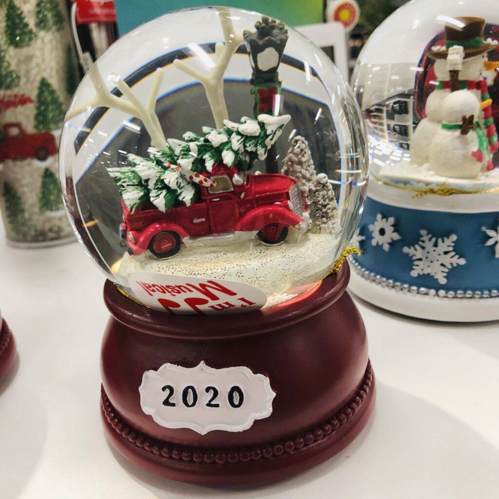 Snow Globes at Kohls on Over 50 Feeling 40