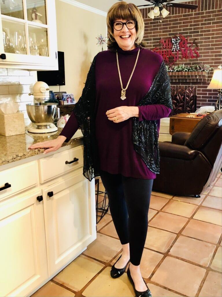Pamela Lutrell in Leonisa Leggings