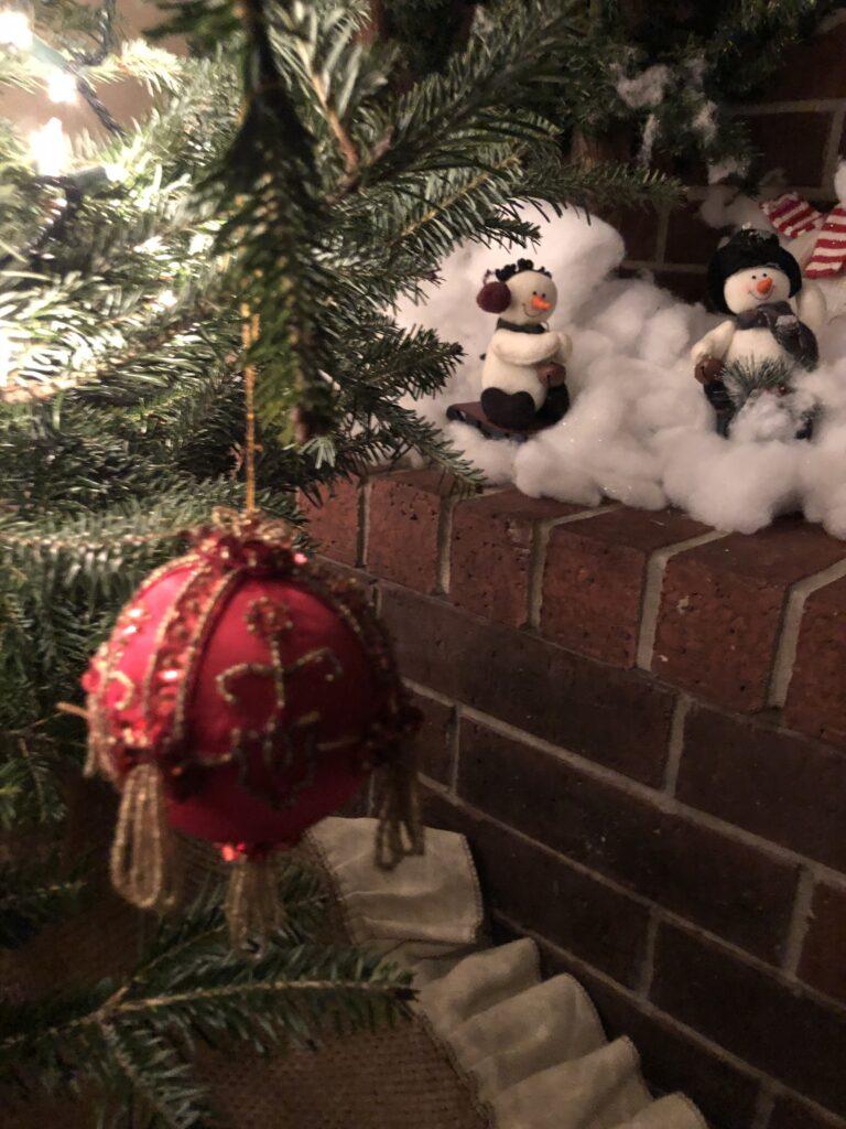 Handmade ornaments on Over 50 Feeling 40