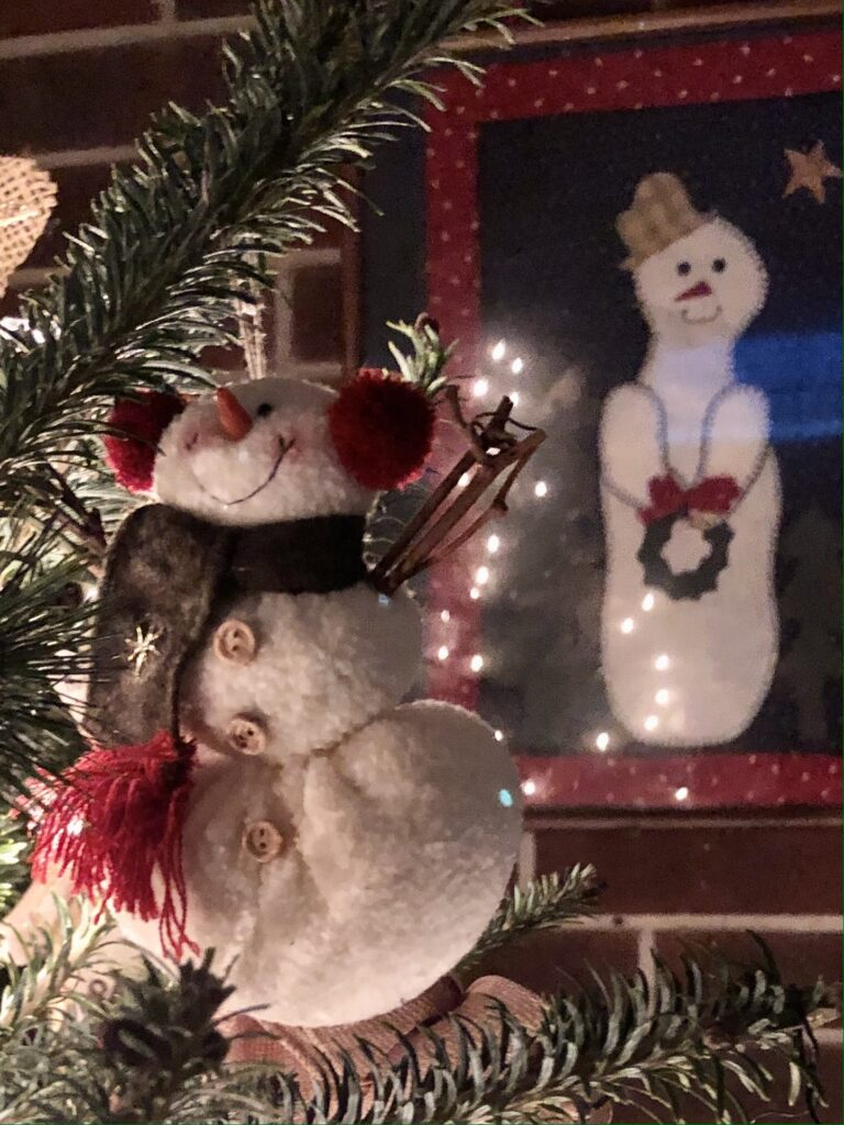The snowman collection on over 50 feeling 40